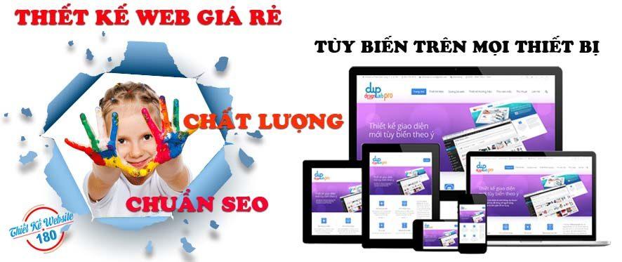 Dịch vụ thiết kế web giá rẻ chuẩn seo