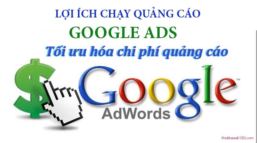 Lợi ích khi quảng cáo google adword