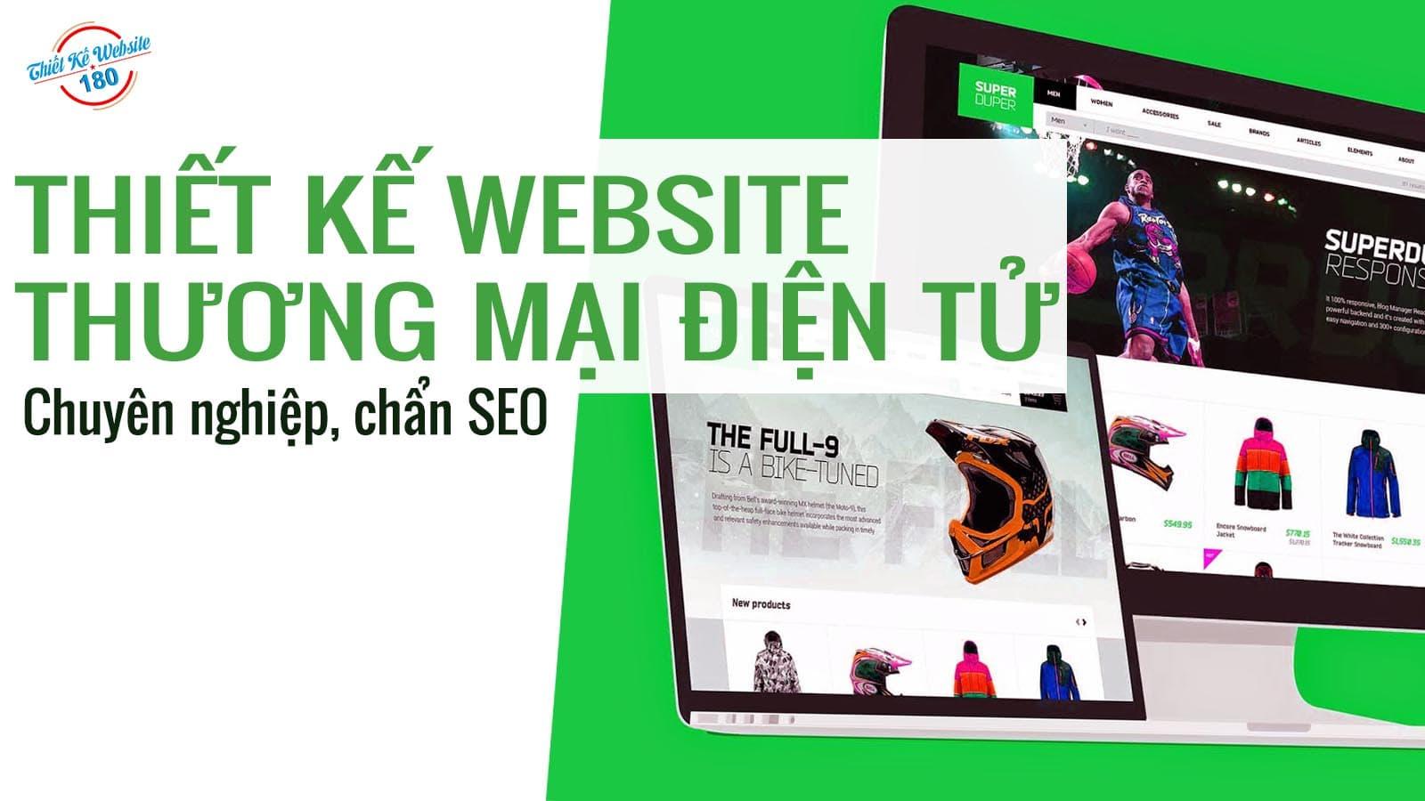 thiết kế web chuyên nghiệp tại 180