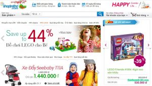 Các trang web bán hàng trẻ em - Shoptretho.vn
