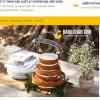 Mẫu website bán bánh TKW243