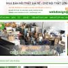 Mẫu website bán đồ cũ TKW252