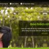 Mẫu website dịch vụ bảo hiểm TKW244
