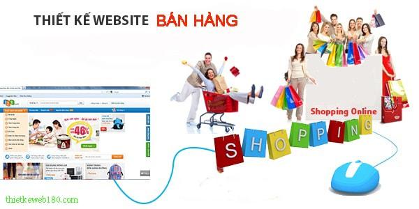 Vì sao nên thiết kế web bán hàng online?