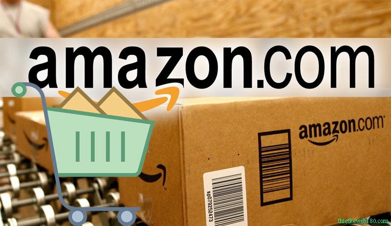 Web bán hàng cho người nước ngoài - Amazon