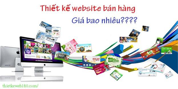 Website bán hàng giá bao nhiêu?