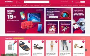 Bukalapak - web bán hàng Indonesia