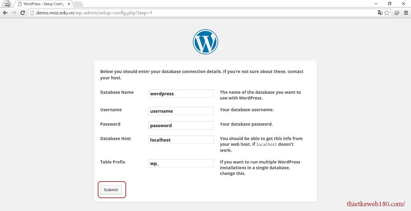 Hướng dẫn cách làm website bán hàng - Cài đặt wordpress