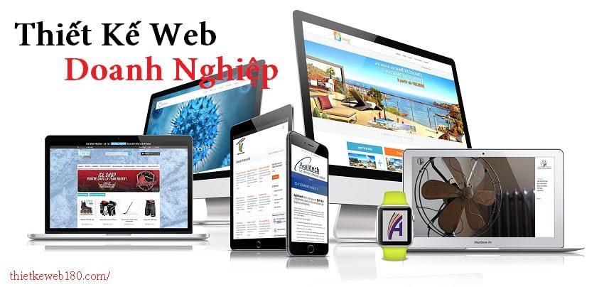 Cách làm trang web doanh nghiệp