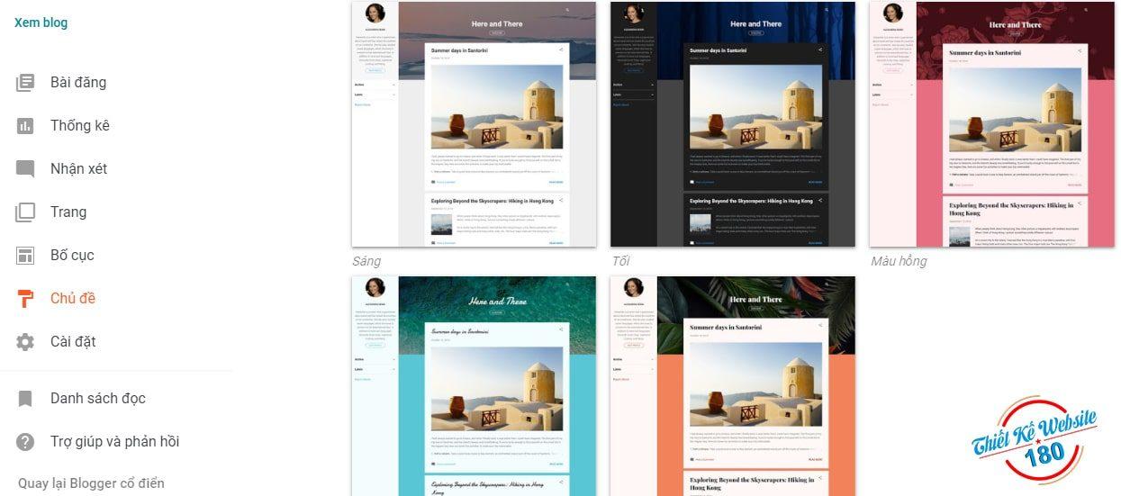 Cách làm web đơn giản miễn phí bằng blogger