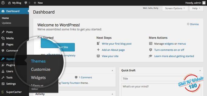 Cấu hình WordPress