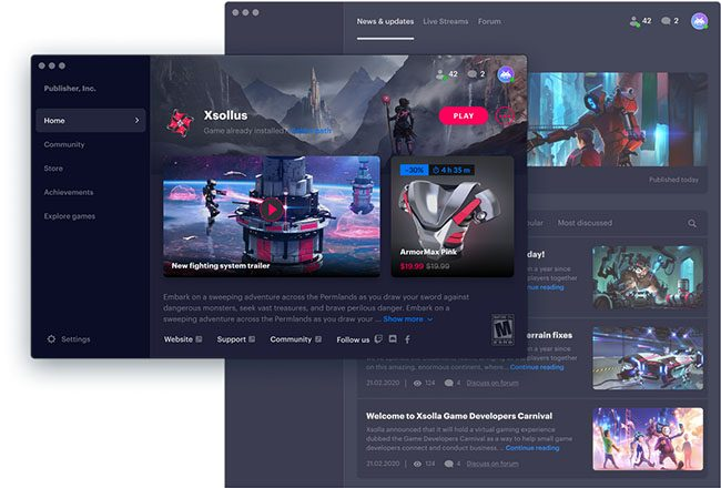 Thiết kế web phần mềm game