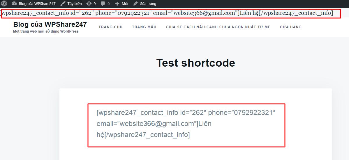 Shortcode là gì?