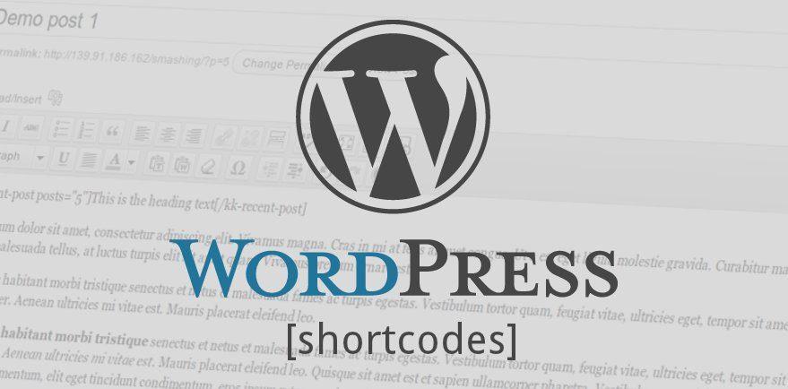 Shortcode wordpress là gì?